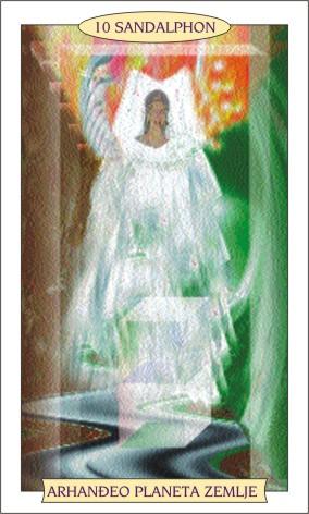 ANĐEOSKI TAROT: SANDALPHON - Anđeo planeta Zemlje