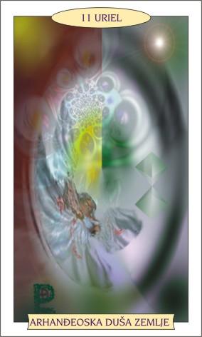 ANĐEOSKI TAROT: URIEL - Arhanđeoska duša Zemlje