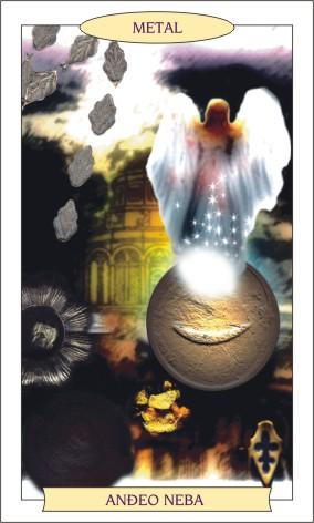 ANĐEOSKI TAROT: METAL - Anđeo neba