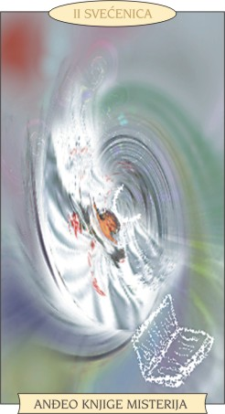 ANĐEOSKI TAROT:SVEĆENICA - Anđeo knjige misterija
