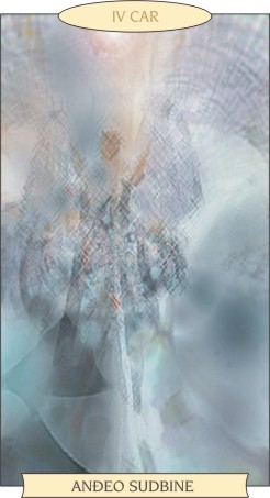 ANĐEOSKI TAROT: CAR - Anđeo sudbine