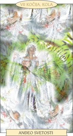 ANĐEOSKI TAROT: KOČIJA; KOLA - Anđeo svetosti