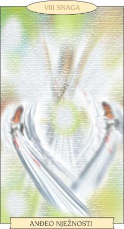 ANĐEOSKI TAROT: SNAGA - Anđeo nježnosti
