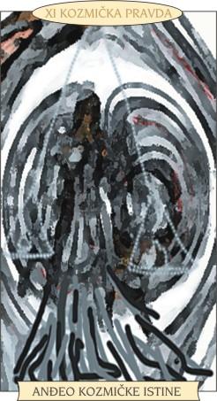 ANĐEOSKI TAROT: KOZMIČKA PRAVDA - Anđeo kozmičke istine