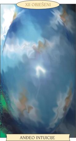 ANĐEOSKI TAROT: OBJEŠENI - Anđeo intuicije