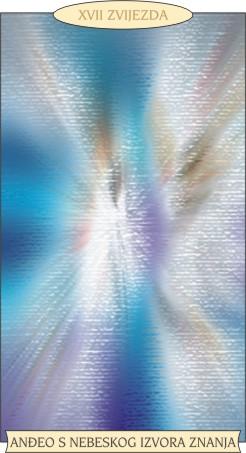 ANĐEOSKI TAROT:  ZVIJEZDA - Anđeo s nebeskog izvora znanja