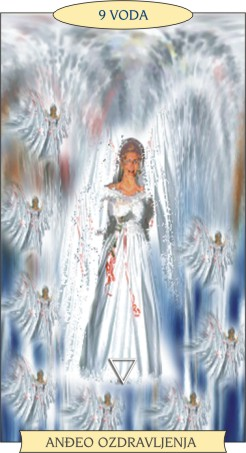 ANĐEOSKI TAROT:  9 VODA - Anđeo ozdravljenja