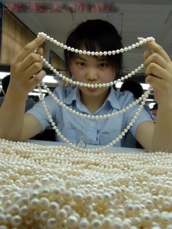 Kako nastaje biserna ogrlica . .