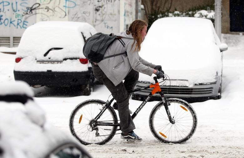 Na posao će sutra biciklom oko 500 građana