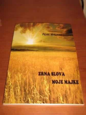 Poklanjam svoju zbirku poezije: ZRNA SLOVA MOJE MAJKE u nagradni fond magicusa