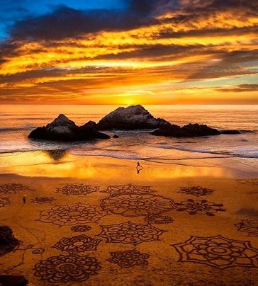 Mandale u pijesku