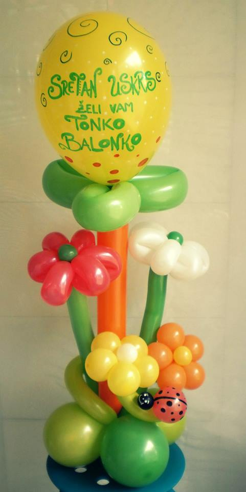 Veseli Uskrs u Tonku Balonku