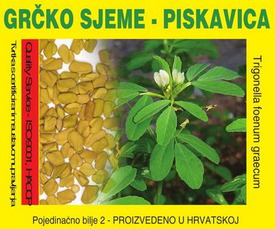 PRIRODNA MEDICINA - GRČKO SEME