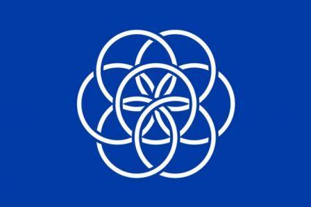 Planeta Zemlja ima od sada svoju zastavu,a ja baš to vezem na jastućnicama ! :-)