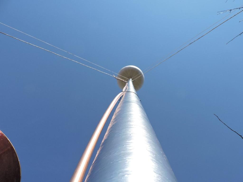 TESLIN TORANJ (Wardenclyffe Tower) – 12 METARA VISOK PROTOTIP KONAČNO PODIGNUT!