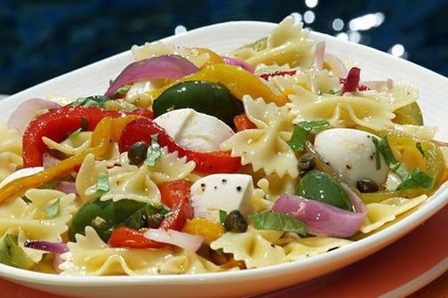 Vegetarijanska kuhinja - Pasta primavera