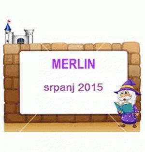 Merlina u srpnju dobiva...