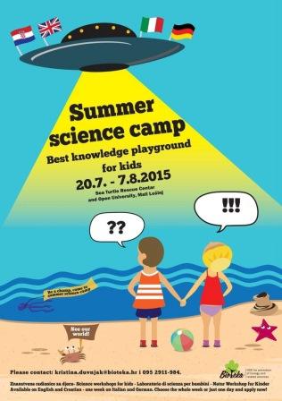 Bioteka otvara ljetni znanstveni kamp na Lošinju!