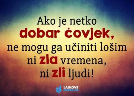 DOBAR ČOVJEK (18. prosinca)