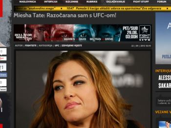 Miesha razočarana UFC-om