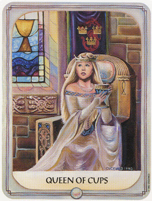 Tarot: NASLIJEĐENI PUT (PUT PREDAKA)– KRALJICA PEHARA