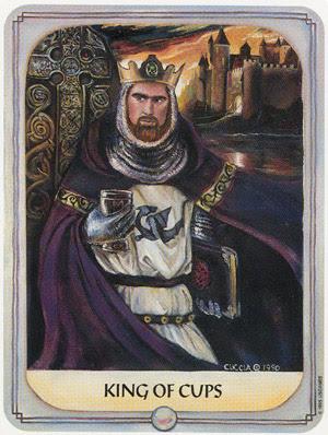 Tarot: NASLIJEĐENI PUT (PUT PREDAKA) – KRALJ PEHARA