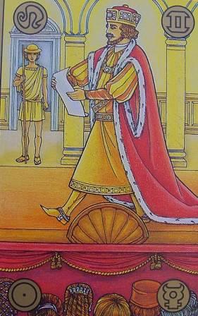 Symbolon karte - Glumac