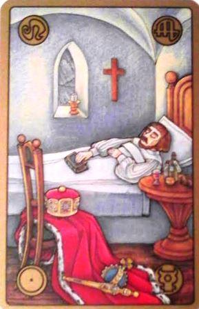 Symbolon karte - Bolesni kralj