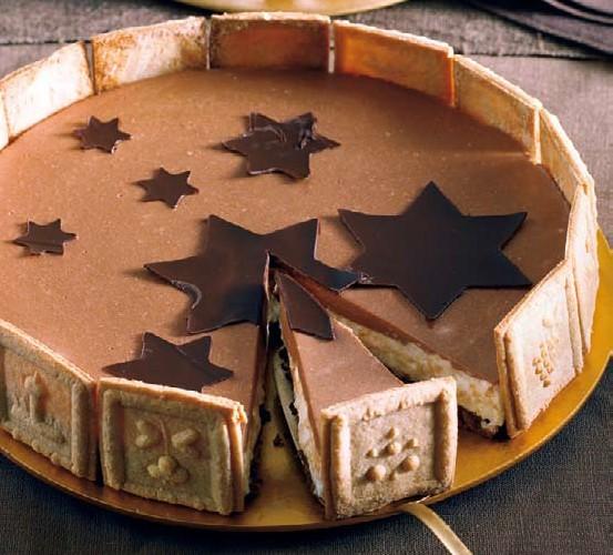 Božićna torta sa špekulacijus-keksima