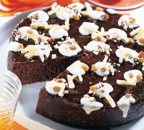 Čokoladni kolač s đumbirom