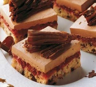 Čokoladne  ploške  s  konjakom