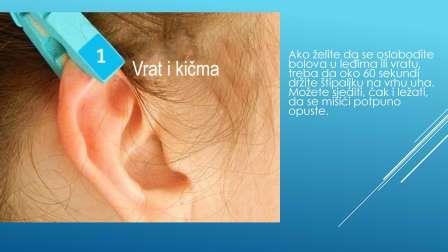 Akupunktura uha pomoću štipaljke