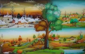 Otvorenje samostalne izložbe pod naslovom Idile zaustavljenog vremena Autor Milan Nadj