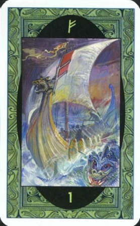 Rune - runske karte: 1. Fehu