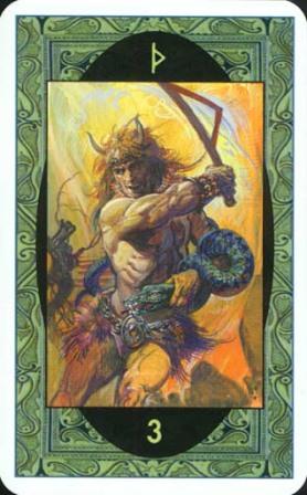 Rune - Runske karte:  3. THORN