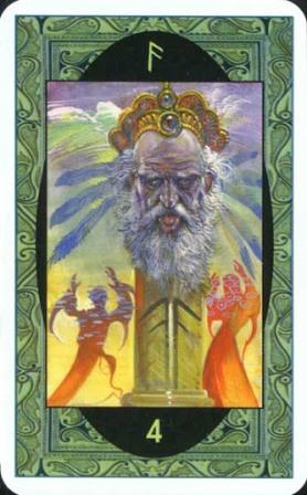 Rune - Runske karte:  4 Os