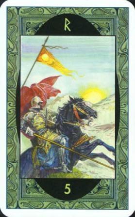 Rune - Runske karte:  5. Rad