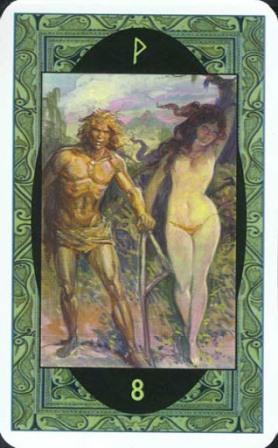 Rune - Runske karte:   8. Wyn