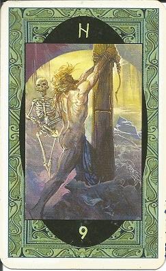 Rune - Runske karte:   9. Hagal