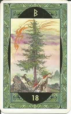 Rune - Runske karte:  18.Beorc