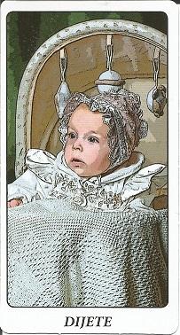 Ciganske karte - Dijete
