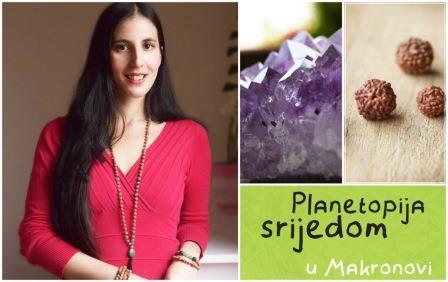 Najava nove Planetopijine srijede: Rudrakša i kristali - pomagači iz prirode za uspješan život. 23.3. u 19 sati