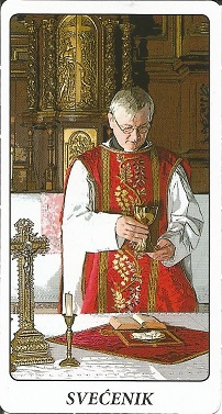 Ciganske karte - Svećenik