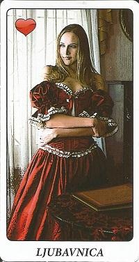 Ciganske karte - Ljubavnica