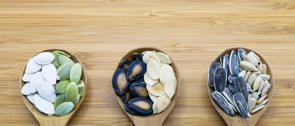 Sjemenke - liječe rane, sprečavaju rak, snizuju tlak i kolesterol