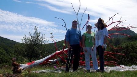 Volonterke Parka prirode Učka na Land art stazi