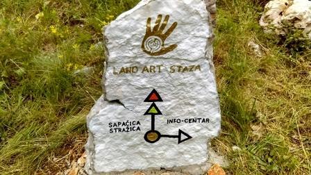 Otvorenje Land art staze na Učki