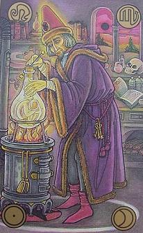 Symbolon karte - Čarobnjak