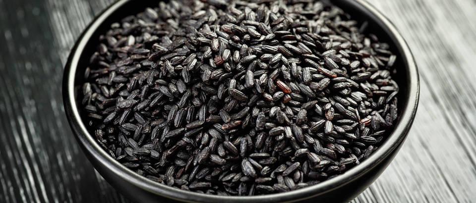 Crna riža - djeluje protuupalno i odlična je za probavu!