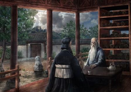 Susret Lao Cea i Konfučija (taoistička priča)